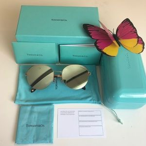 Women's Tiffany & Co Sunglasses Mirror Lenses